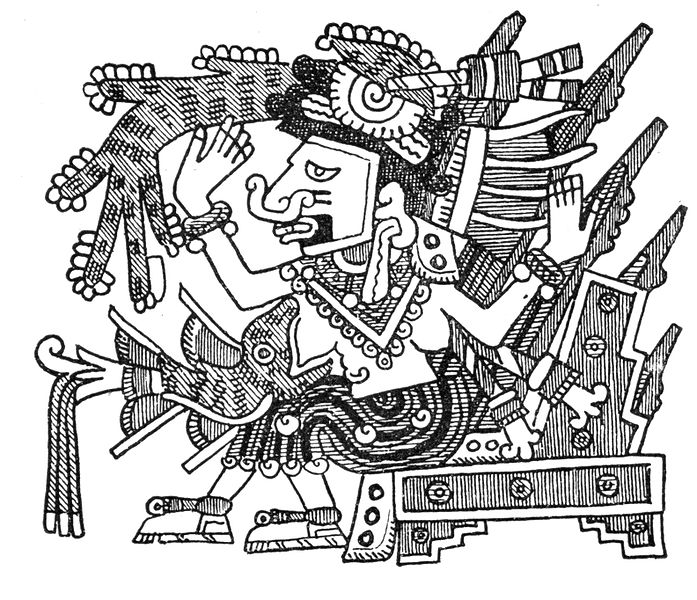 1521 - Mayahuel from the Codex Fejervary-Mayer.