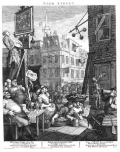 """Beer Street"" by William Hogarth"