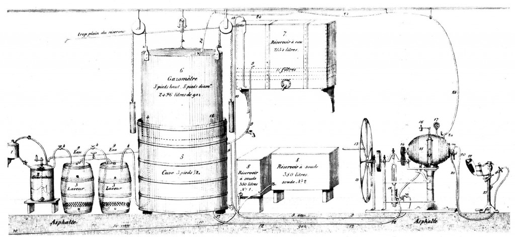 "Schweppes carbonation machine or ""Geneva Aparatus"" (click to enlarge)"