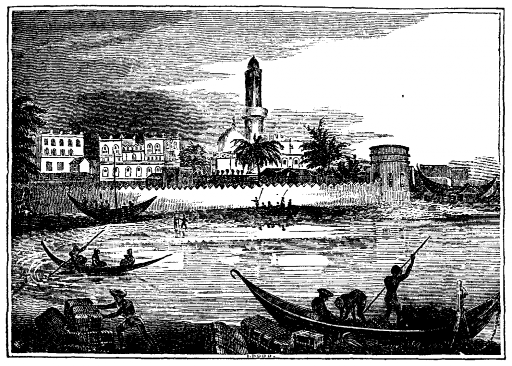 Port of Mocha c1800 - c/o gutenberg.org