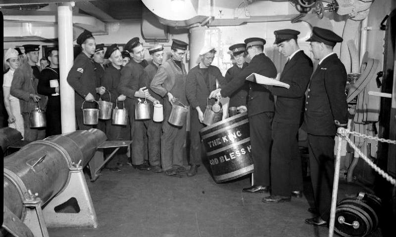 The Navy and Rum - Part 1: Jamaica, Grog, Pussers and Proof