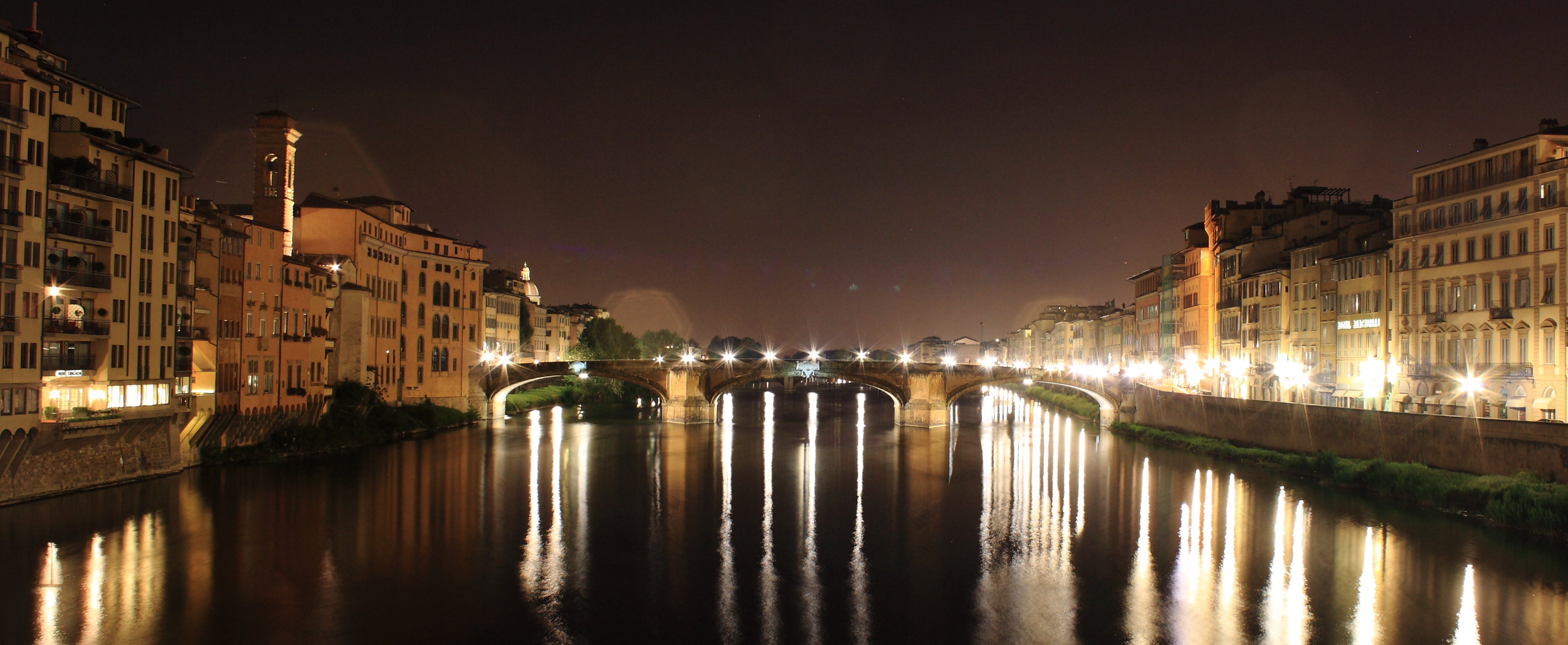 Florence by night, what's not to like? - [authors own image]