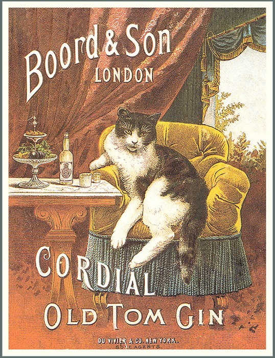 Old Tom Gin poster, Boord & Sons Distillery, London
