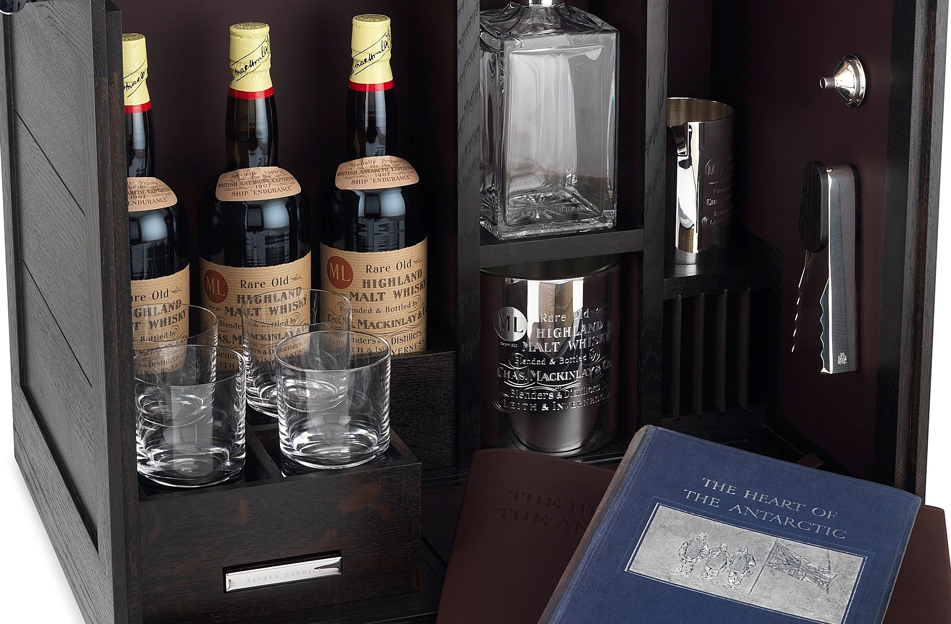 Alfred Dunhill Antarctic Whiskey Cabinet